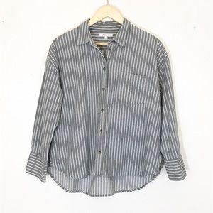 Madewell Flannel Striped Westward Shirt A-01